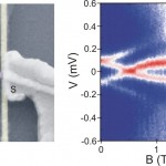 Spin Texture of Sub-Gap Andreev levels in Semiconductor Quantum Dots Proximity-coupled to Superconductors