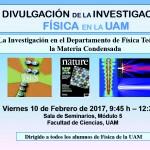 Jornadas de Divulgación de la Investigación en Física en la UAM