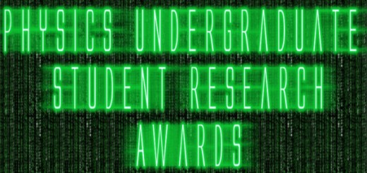 Physics Undergraduate Student Research Awards - 2017
