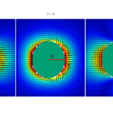 Computational Study of the Collective Motion of Micro-swimmers