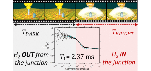 A Single Hydrogen Molecule as an Intensity Chopper in an Electrically Driven Plasmonic Nanocavity